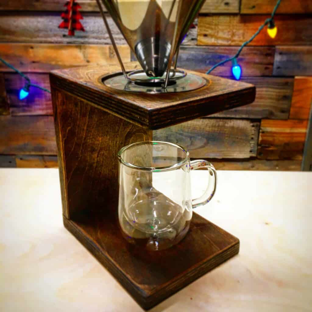 Minimalist Pour Over Coffee Maker Tutorial Lazy Guy Diy