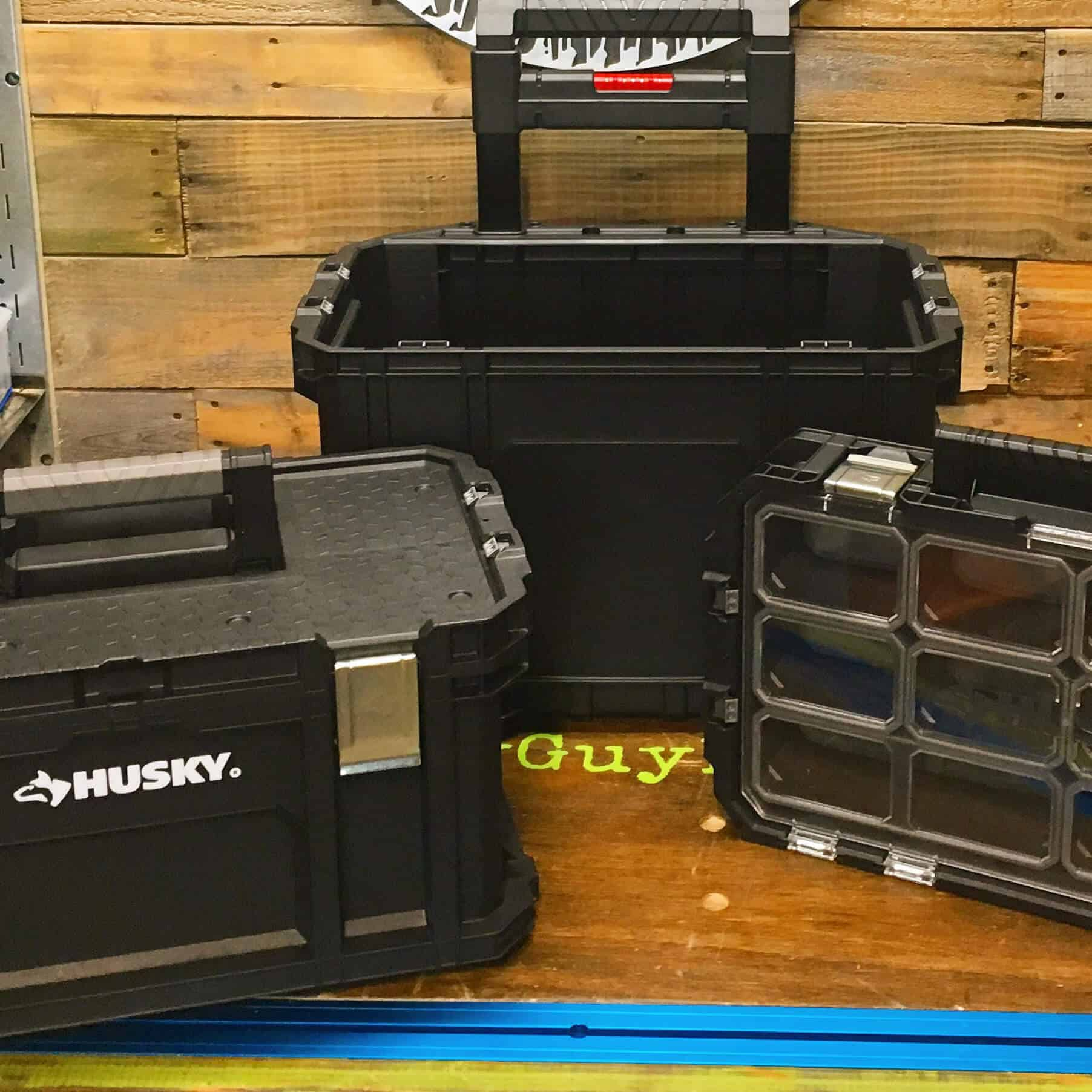 "Pro-Spective Review: Husky 22"" Connect System Rolling Tool Box - Lazy Guy DIY"