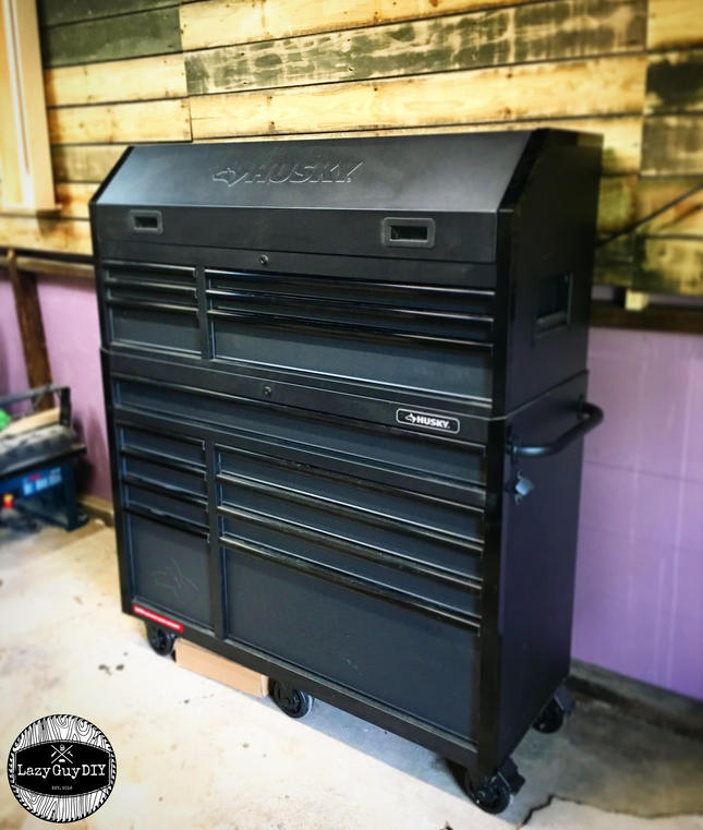 "Husky 52"" Rolling Tool Cabinet"