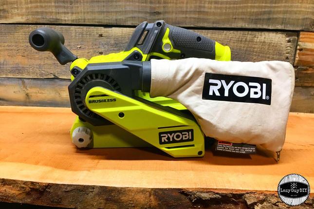 Ryobi One+ Brushless Belt Sander