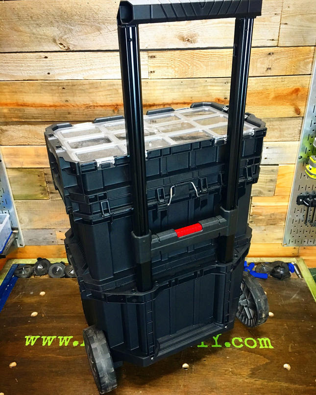 """Husky 22"""" Rolling Connect Tool Box"""