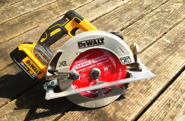 Home Depot Pro Spective Review Dewalt 20v Max Circular Saw