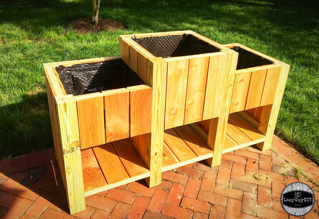 Tiered Raised Veggie Garden Planter