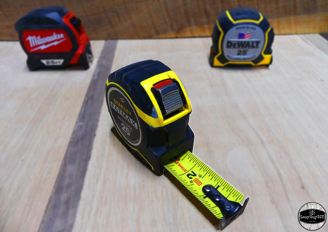 Tape Measure Shootout