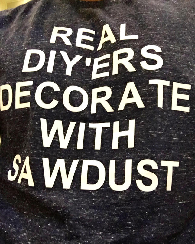 This Shirt Angers Decor Bloggers...