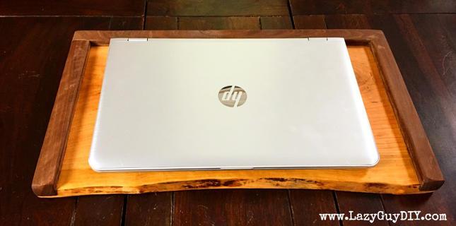 Live Edge Laptop Tray