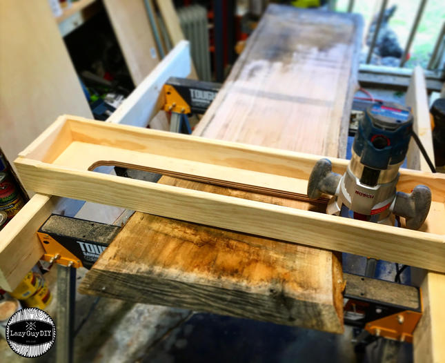 Lazy Guy DIY Router Sled