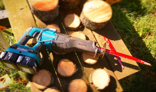 Makita X2 LXT Reciprocating Saw