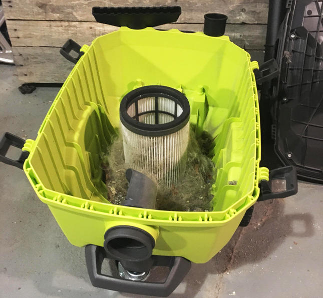 Ryobi One+ Wet/Dry Vac Collection tank