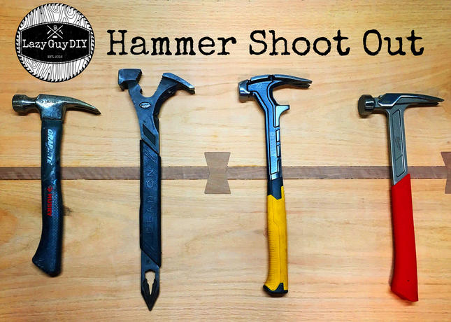 Lazy Guy DIY Hammer Shoot Out