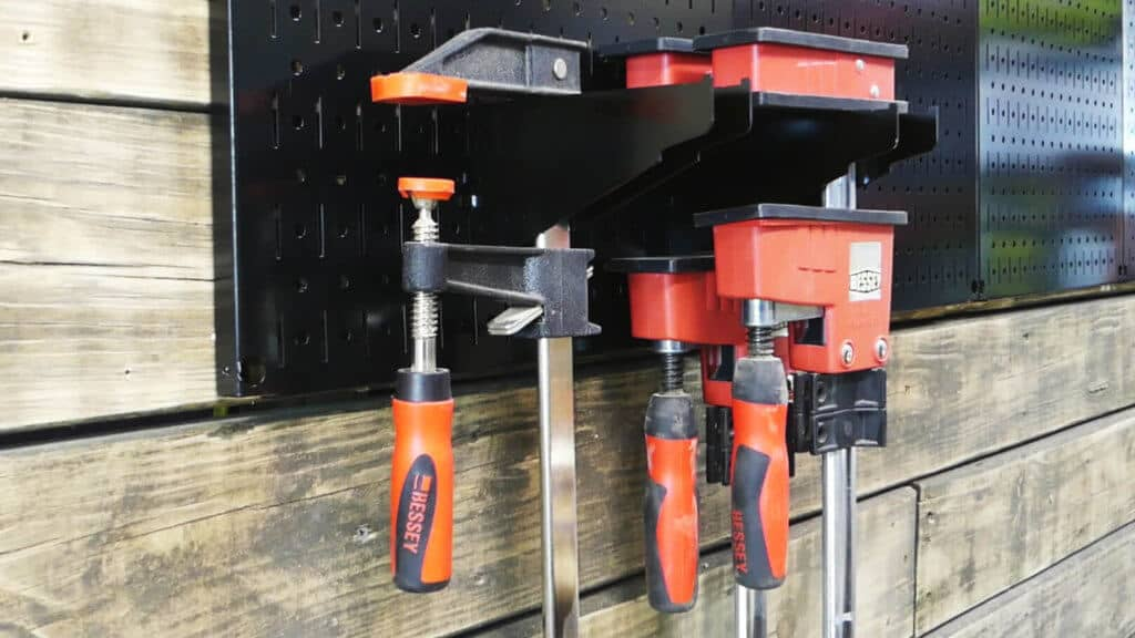 Wall Control Clamps