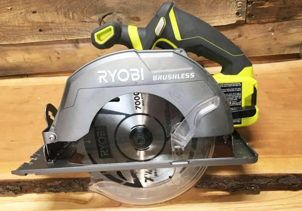 Ryobi one 18v brushless circular saw review lazy guy diy ryobi one 18v circular saw keyboard keysfo