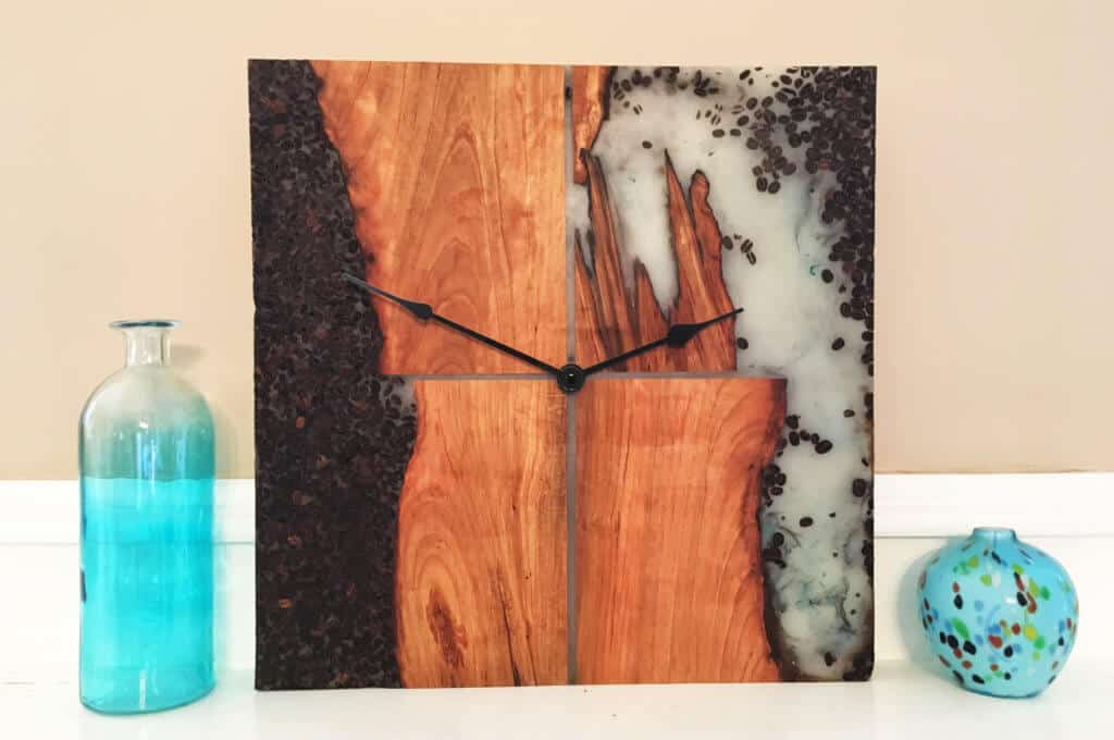 Cherry Java Clock Wall Art Challenge