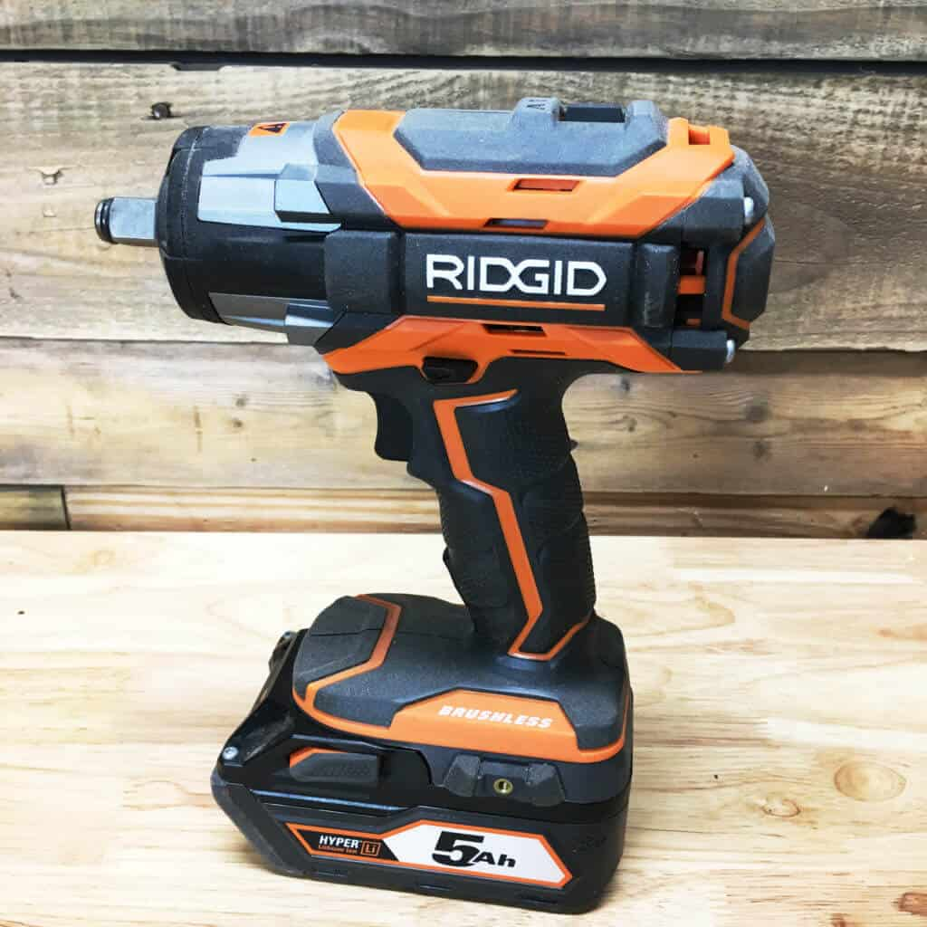 Ridgid Impact Wrench Profile