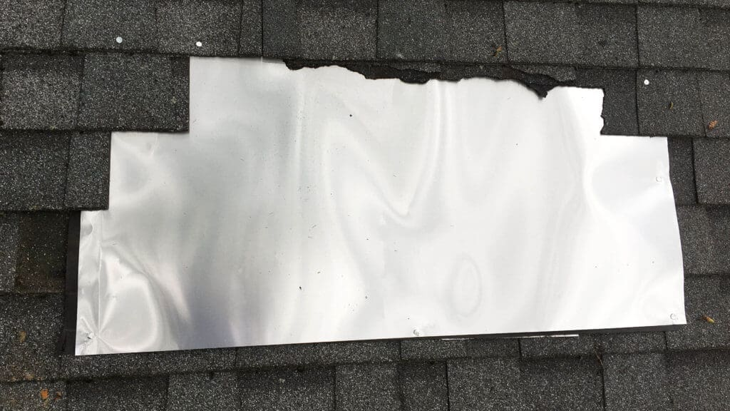 Temporary Roofing Patch