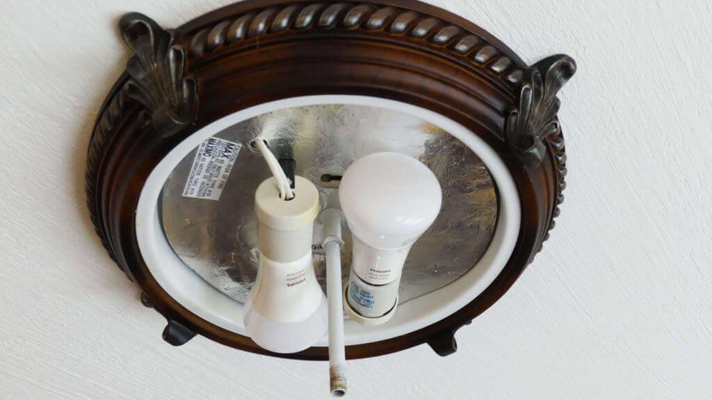 Hue Bulbs In Ceiling Light