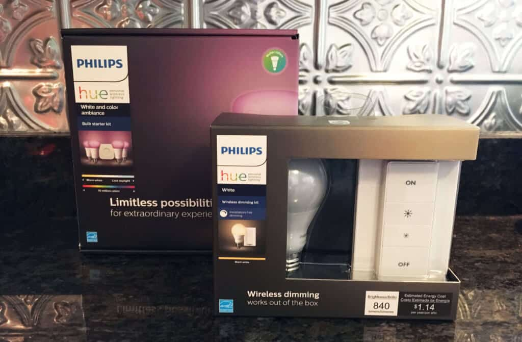 Philips Hue Smart Lighting Home Kit
