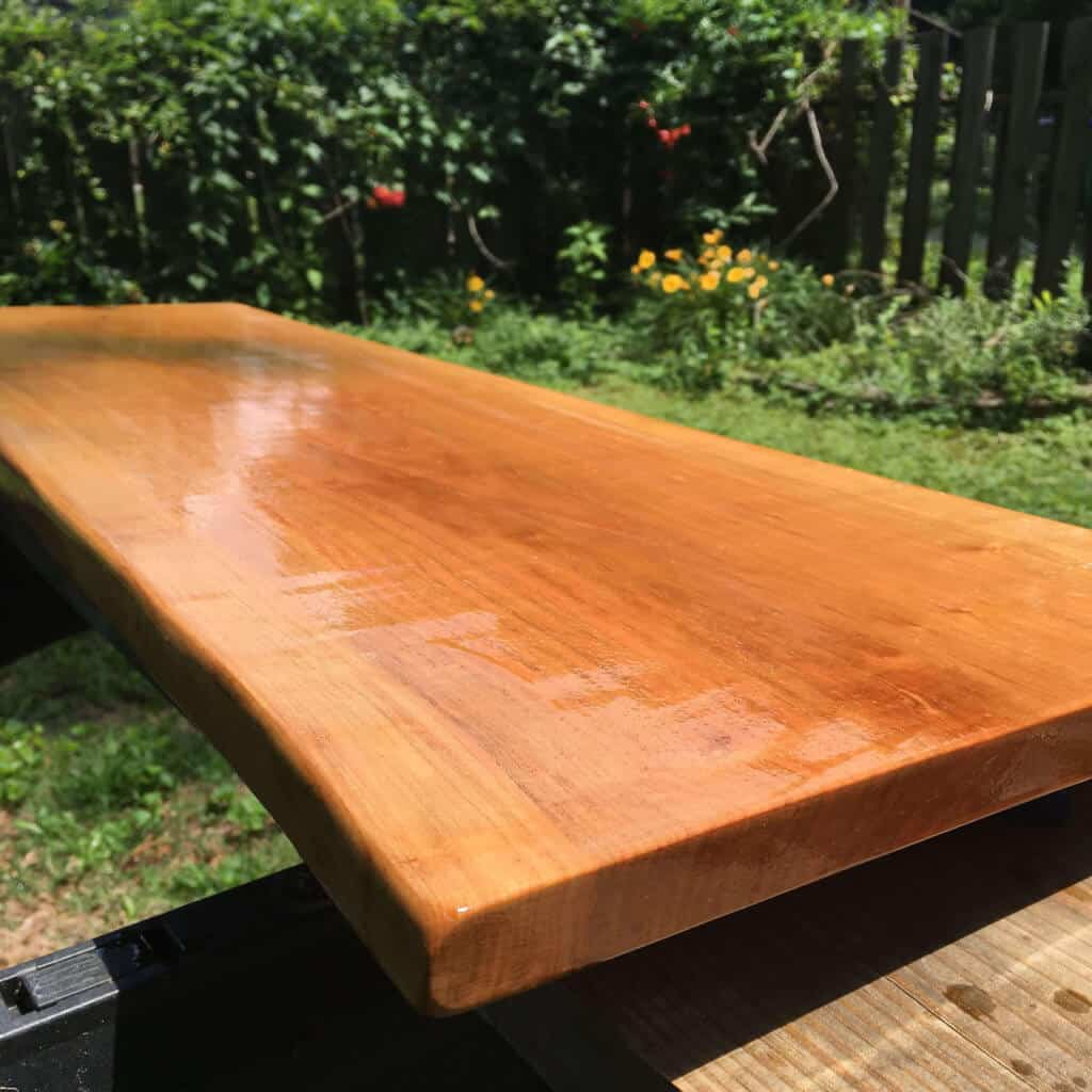 Rustic Live Edge Top