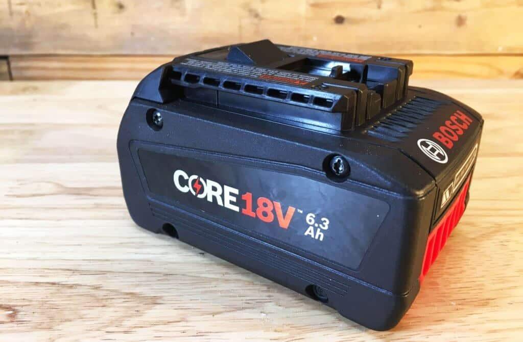 Bosch Core18v Battery