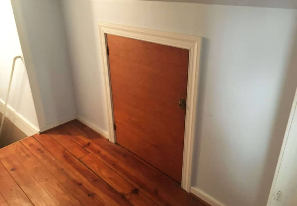 Closet Location Before Demo