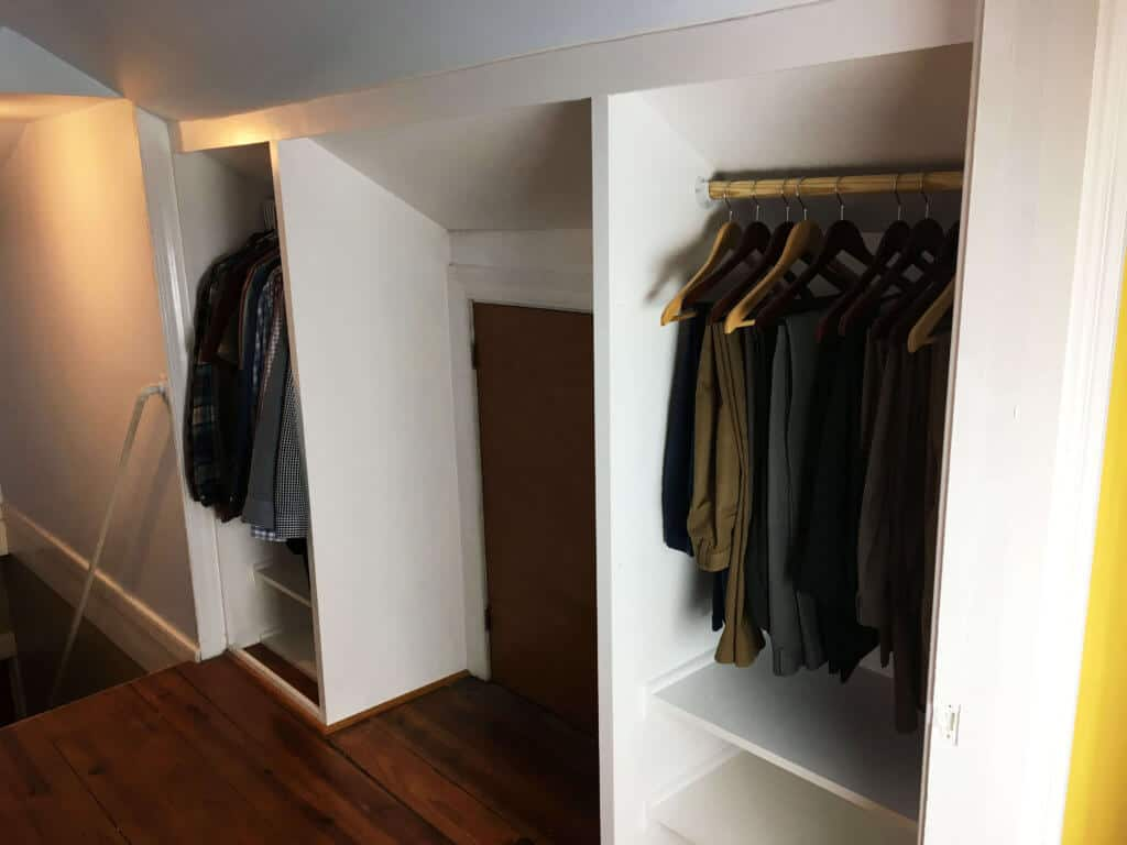 Final Built In Closet Reveal