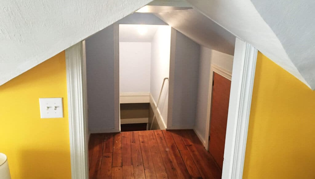 Hallway Before Closets