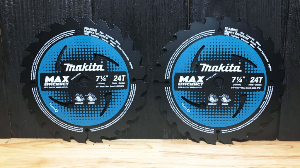 Makita Max Efficiency Saw Blades