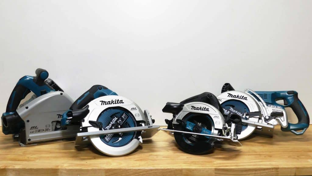 Makita Circular Saw Line Up