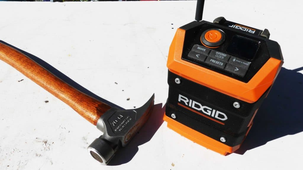 RIDGID Bluetooth Radio