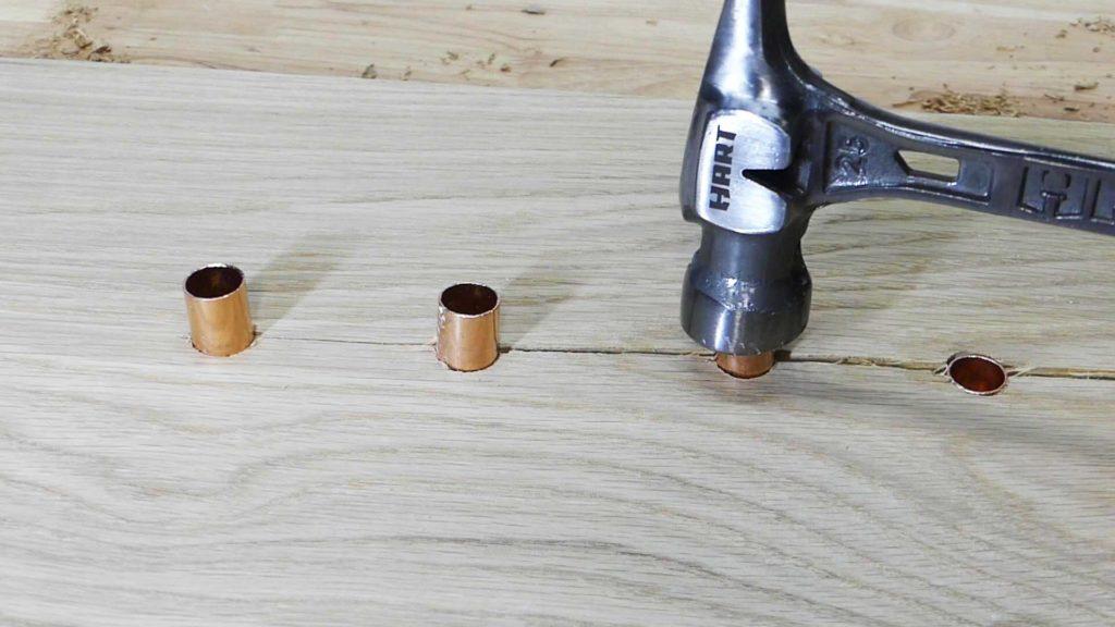 Copper Inlay Hammer