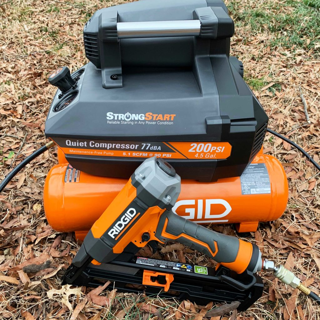 RIDGID Quiet Start Air Compressor