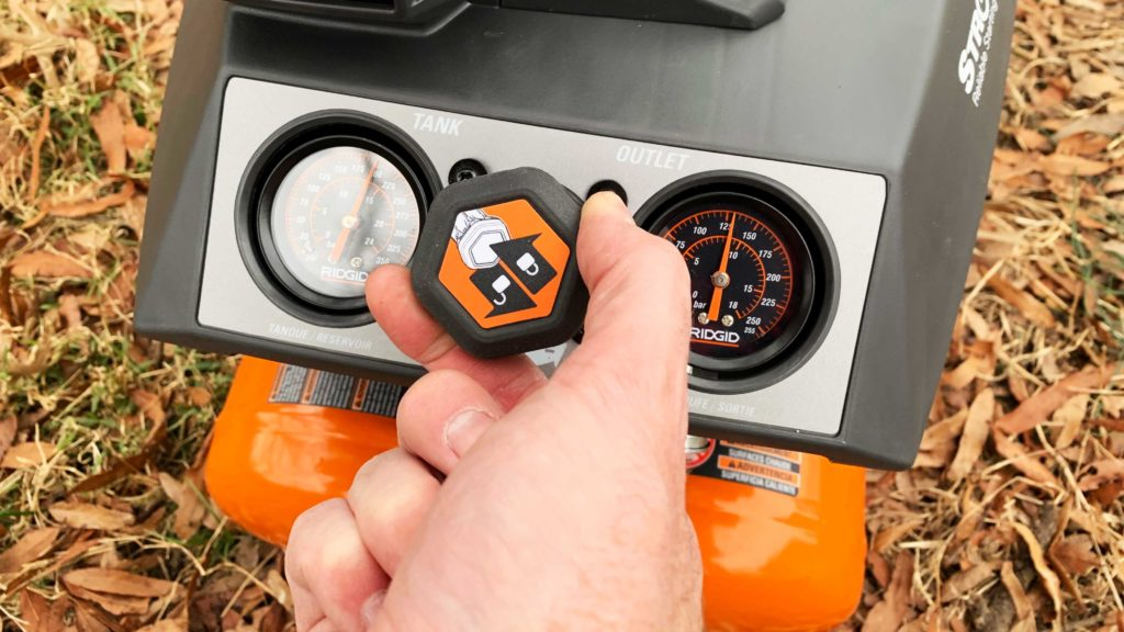 RIDGID- Air Compressor