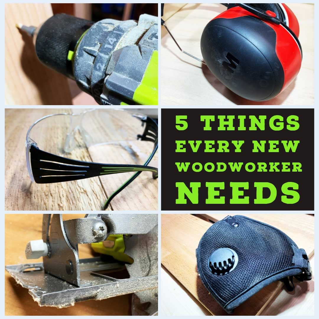 5 Things New Woodworker