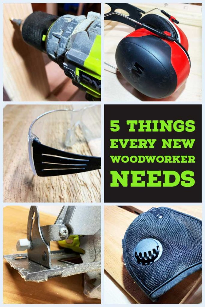 5 Things New Woodworker Pin