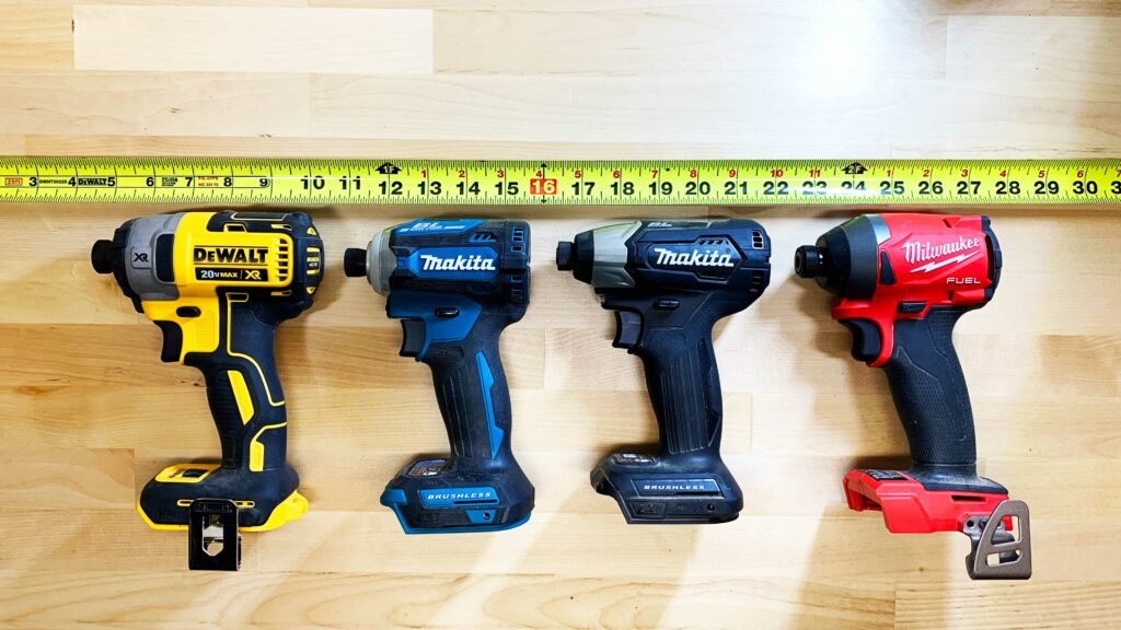 Impact Driver Side by Side