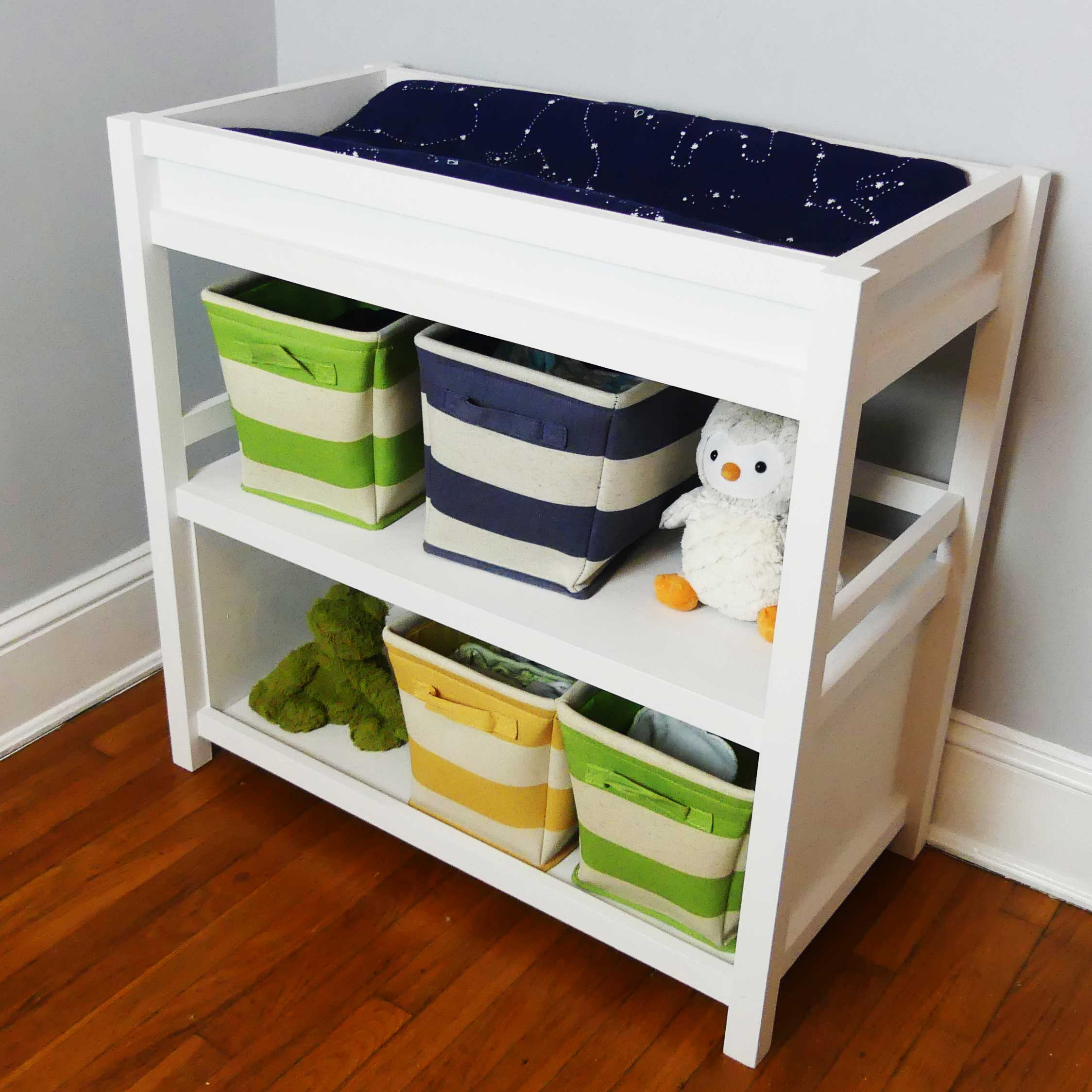 Modern Nursery DIY Changing Table