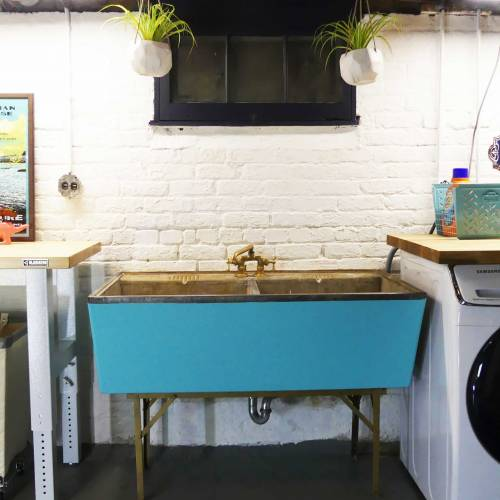 How To Restore A Vintage Concrete Laundry Sink
