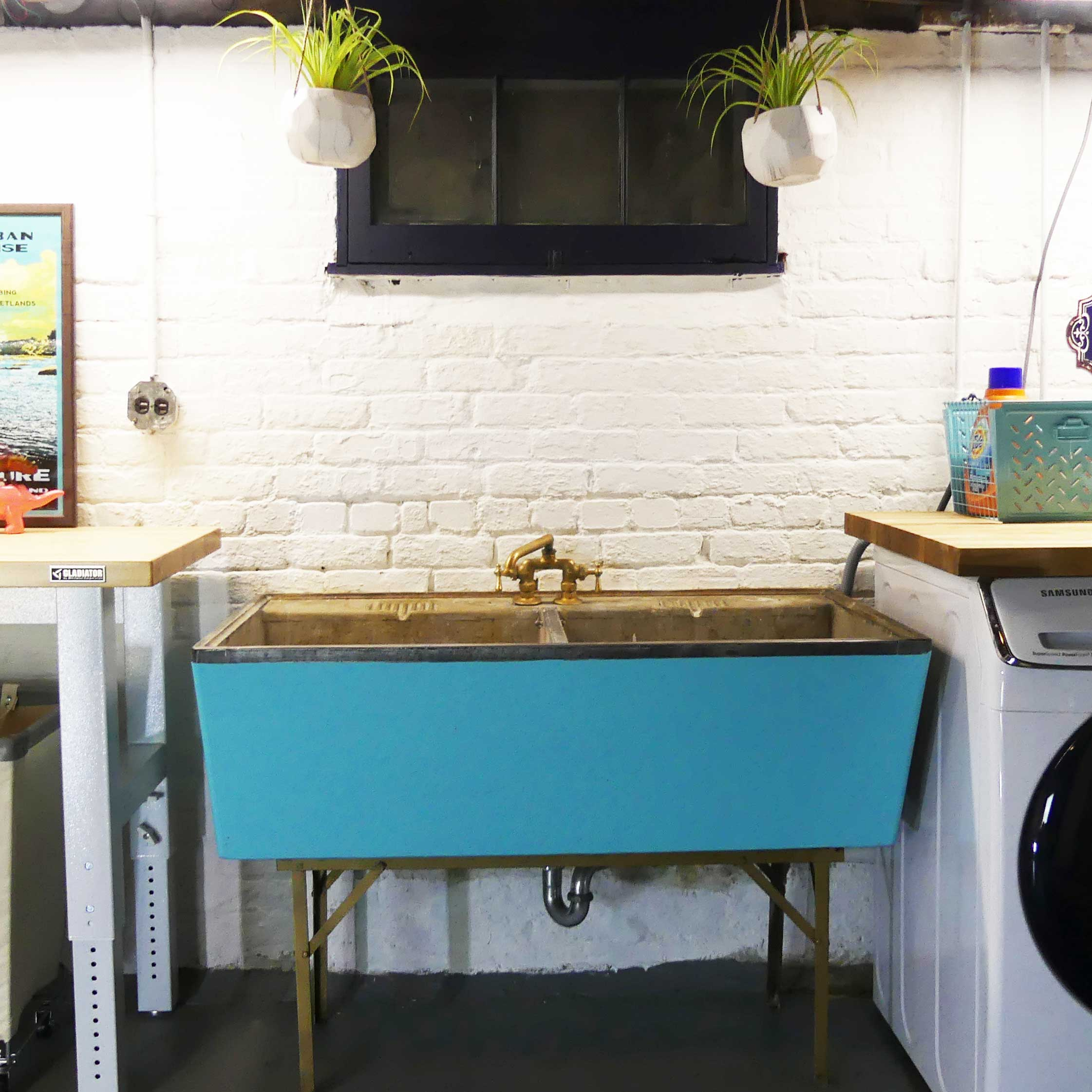 Laundry Sink Restoration