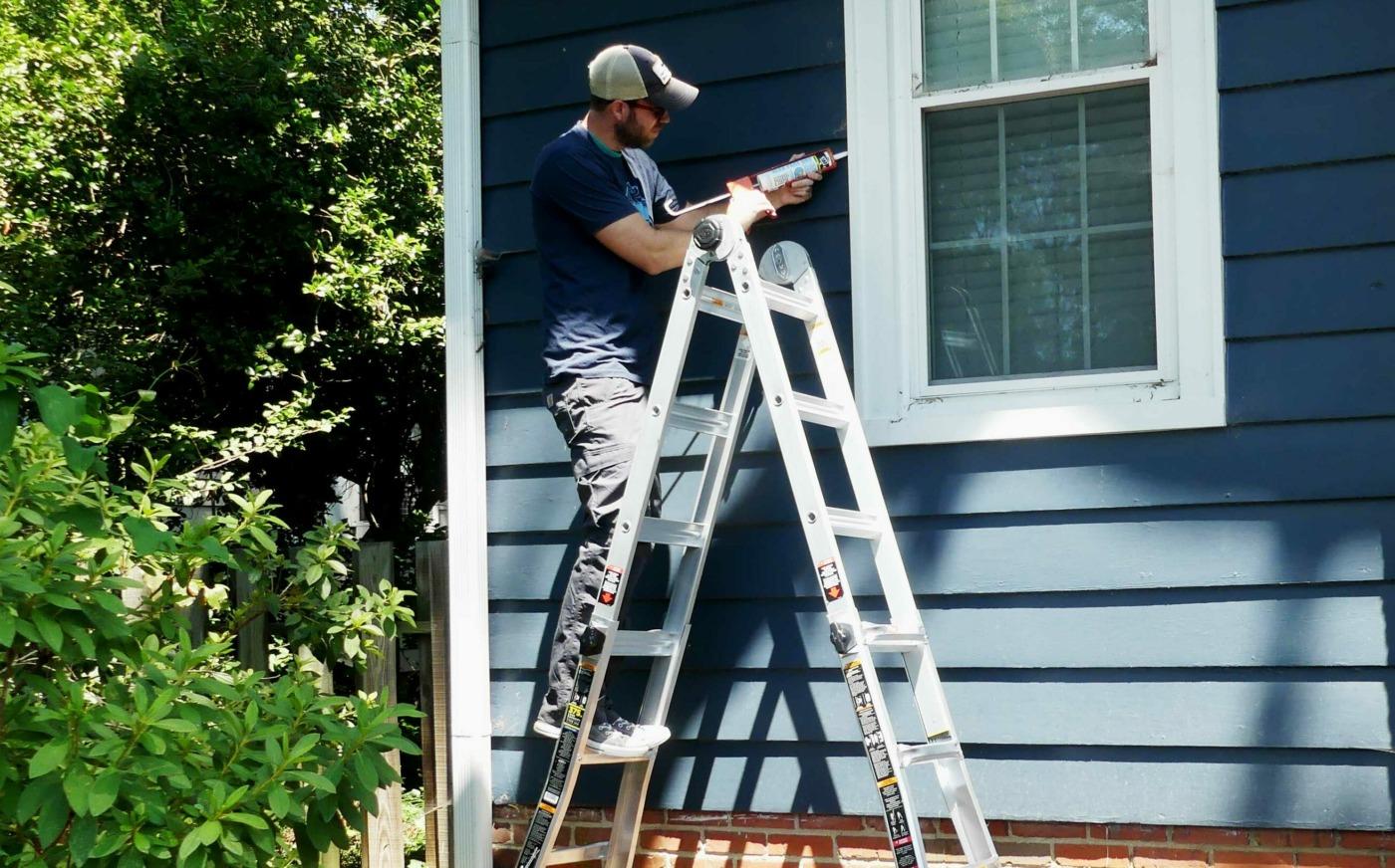 Gorilla 18 Foot Multi-Position Ladder - Lazy Guy DIY