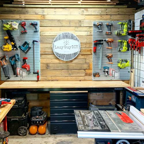 Creating Work Space With Husky Tools