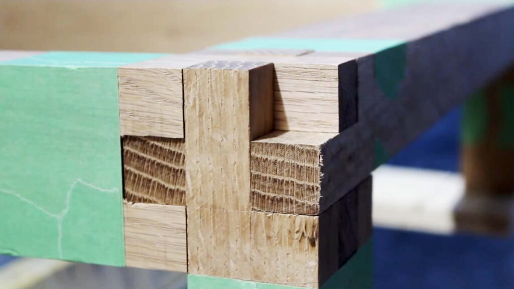 Bridle joint together