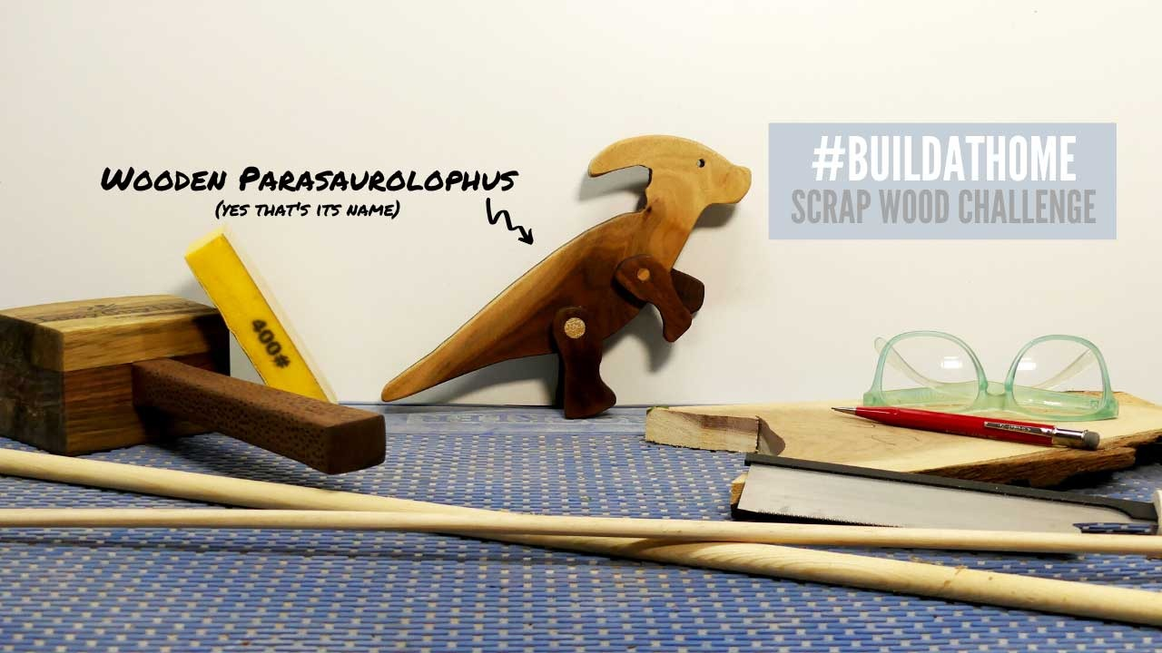 Scrap Wood Dinosaur