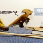 Scrap Wood Toy Dinosaur