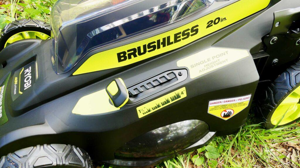 New Ryobi 40v Push Mower