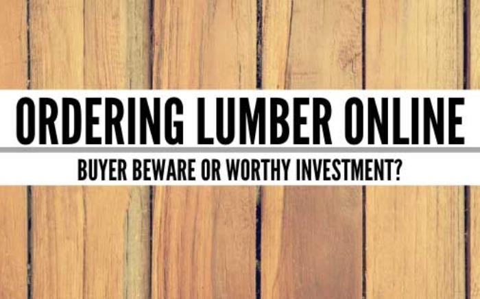 Ordering Lumber Online