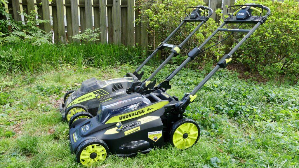 Ryobi 40v push mower