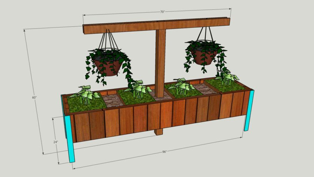 Hybrid Compost Planter