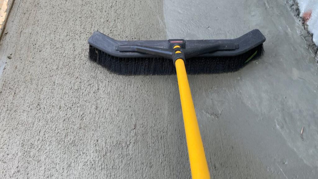Brush Coat of Slab