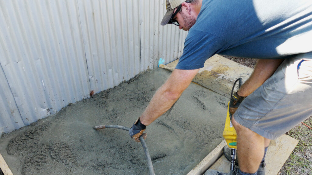 Cement Vibrator