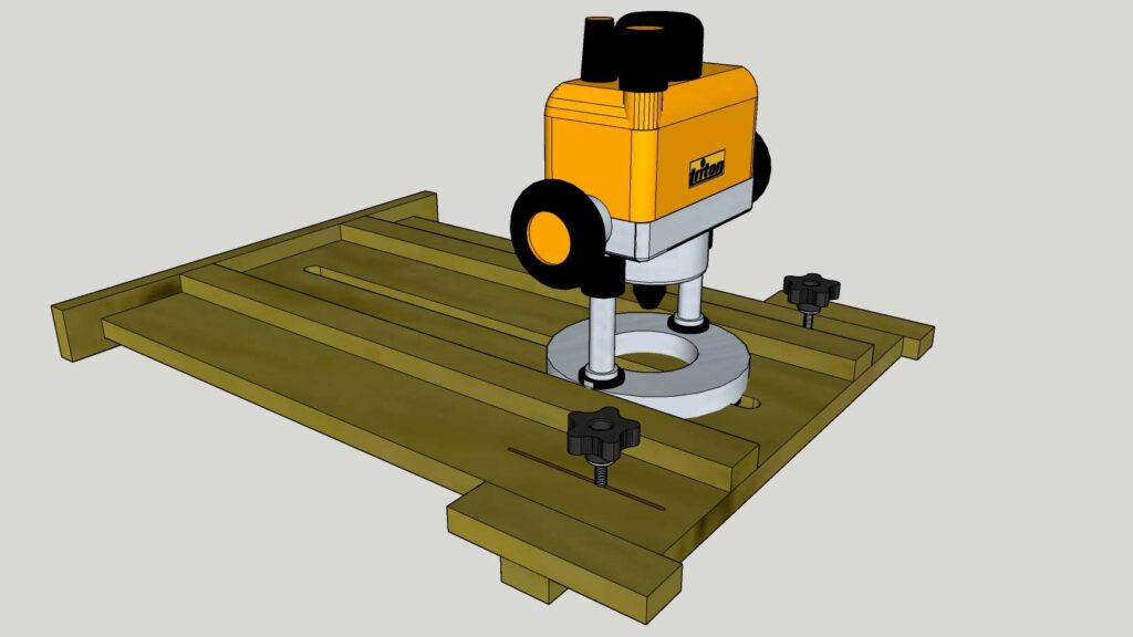 Stopped Dado Router Jig